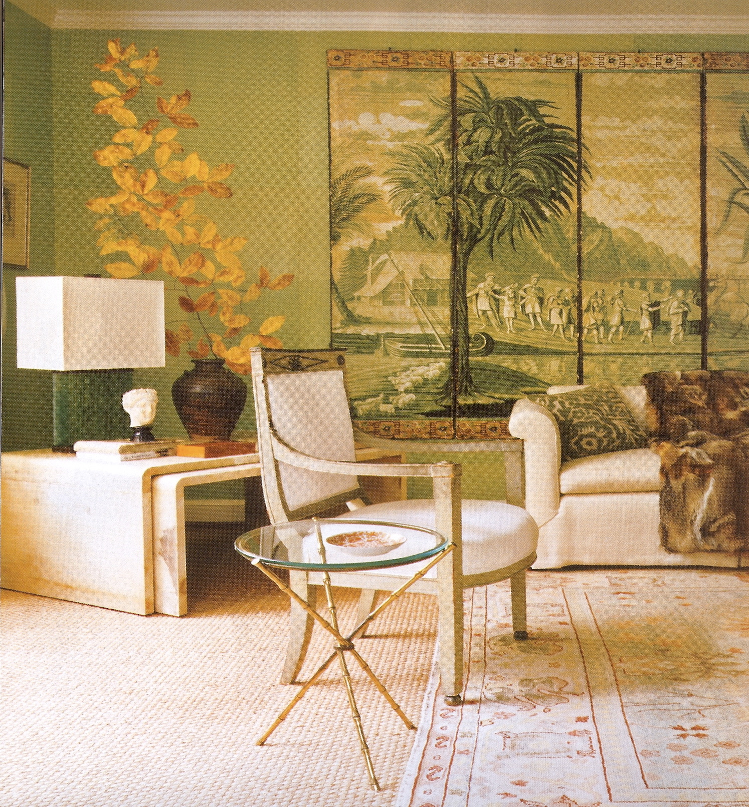 Jean-Michel Frank Living Room
