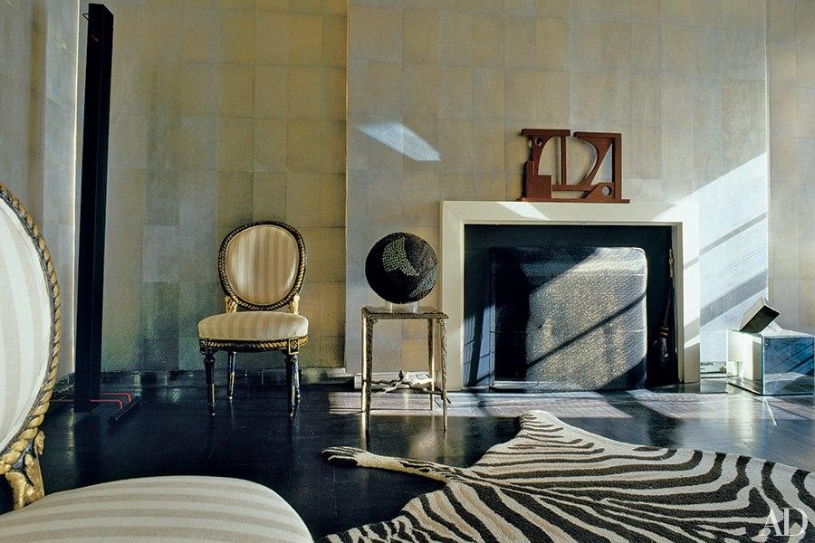 Albert Hadley's Personal Living Room