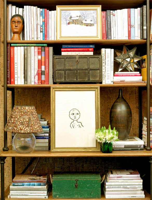 Curated Book Shelf