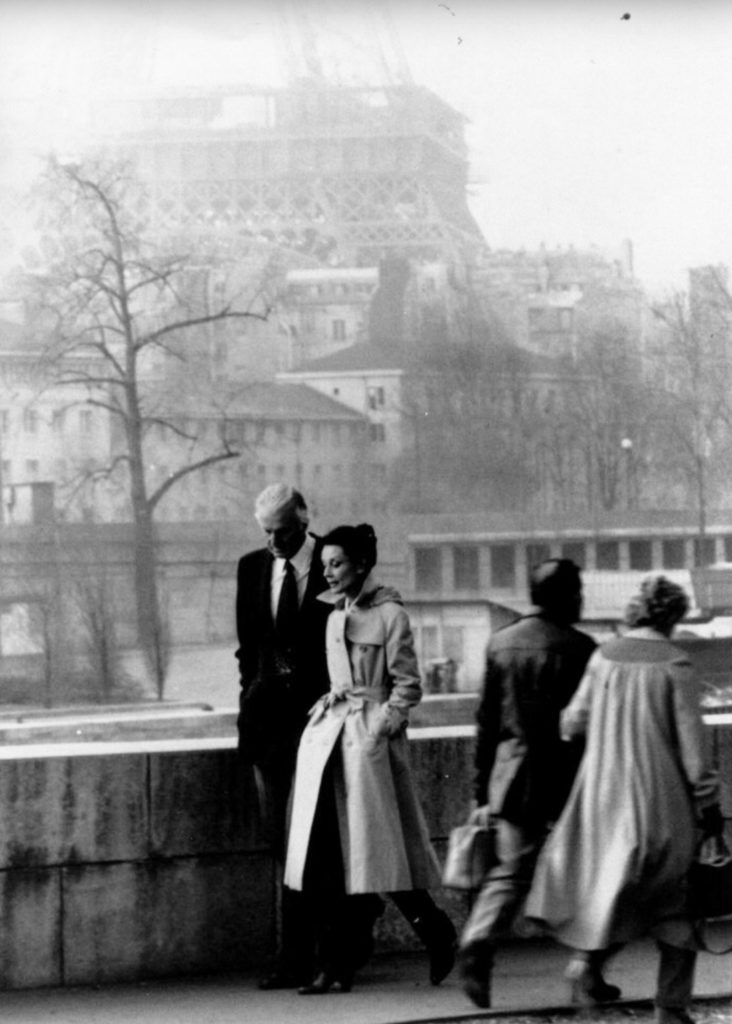 Hubert de Givenchy & Audrey Hepburn in Paris