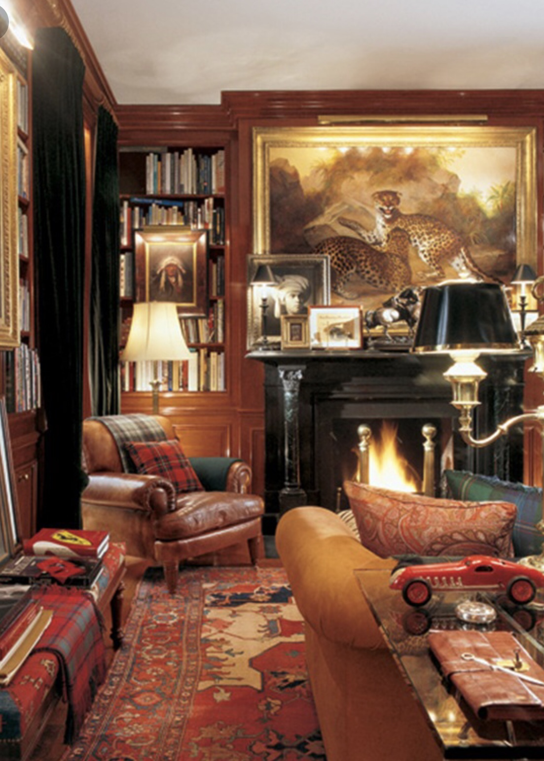 Ralph Lauren Living Room